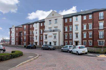 2 Bedrooms Flat for sale in Crooked Bridge Court, St. Georges Parkway, Stafford, Staffodshire