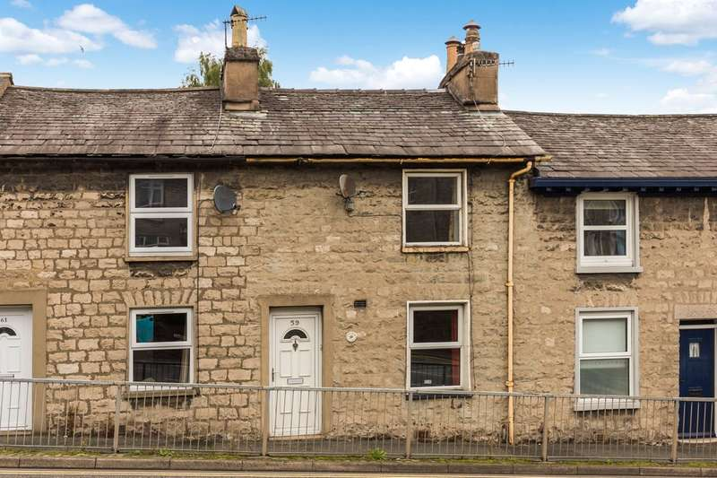 2 Bedrooms Terraced House for sale in 59 Windermere Road, Kendal, Cumbria, LA9 5EP