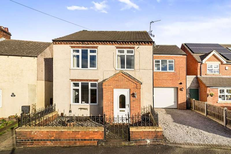 4 Bedrooms Detached House for sale in Inkerman Road, Selston, Nottingham, NG16