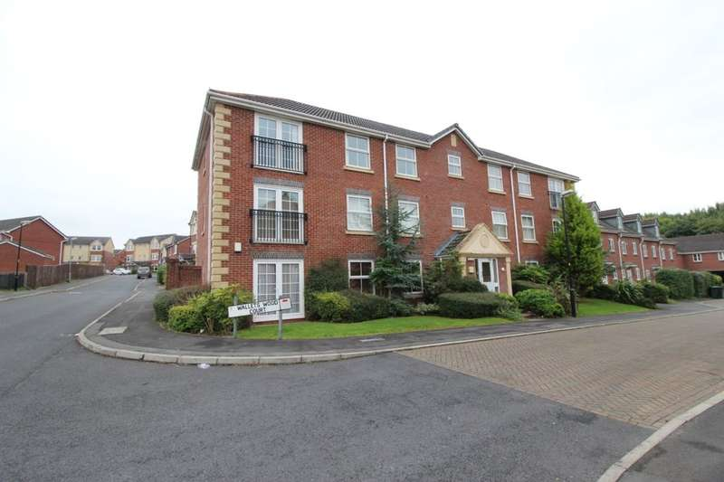 2 Bedrooms Flat for sale in Walletts Wood Court, Chorley, PR7