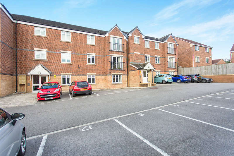 2 Bedrooms Flat for sale in Bellflower Close, Whitwood, Castleford, WF10