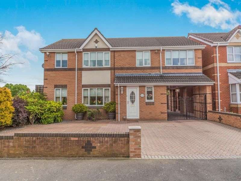 4 Bedrooms Detached House for sale in Middlehope Grove, Bishop Auckland, DL14