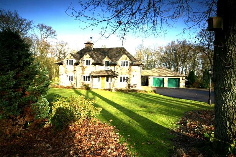 5 Bedrooms Detached House for sale in Gubeon Wood, Tranwell Woods, Morpeth, NE61