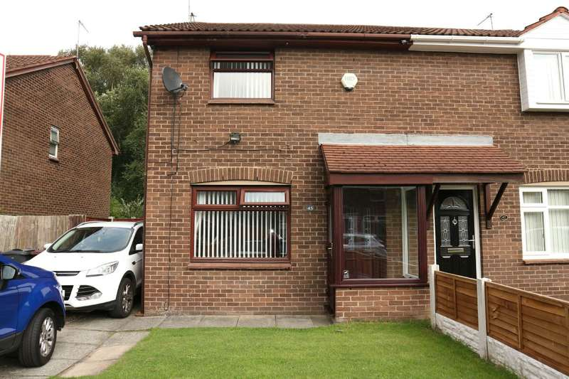 3 Bedrooms Semi Detached House for sale in Rainbow Drive, Halewood, Liverpool, L26