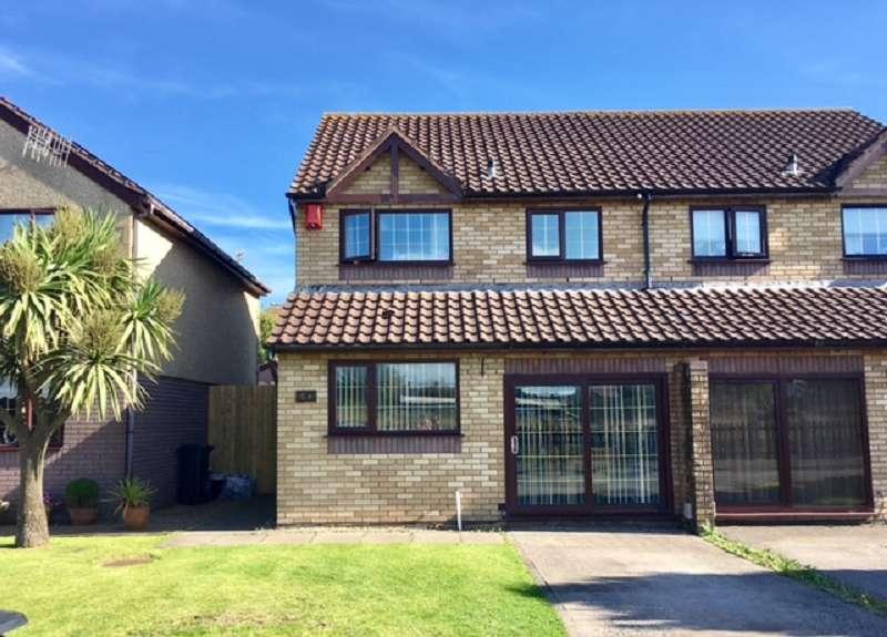 3 Bedrooms Semi Detached House for sale in Harvey Crescent, Aberavon, Port Talbot, Neath Port Talbot. SA12 6DG