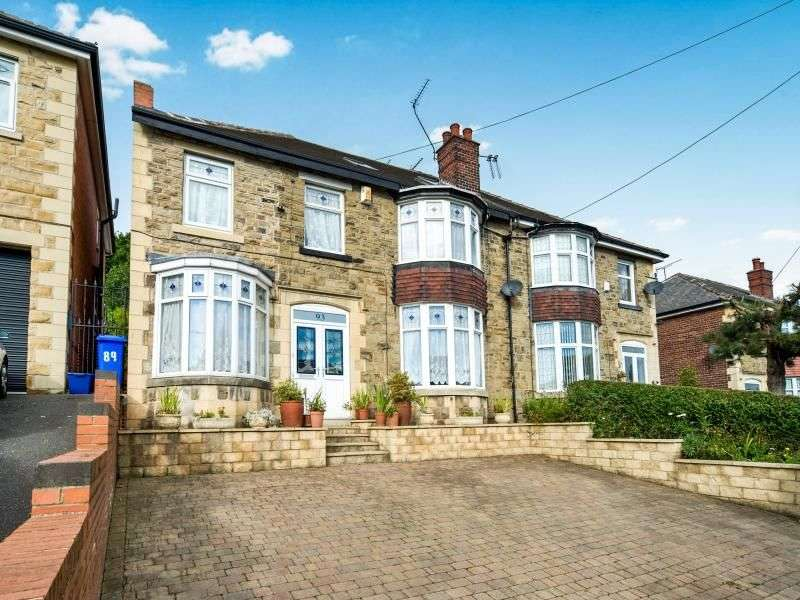 5 Bedrooms Semi Detached House for sale in Norwood Road, Sheffield, S5