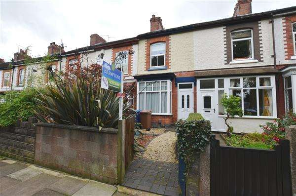 2 Bedrooms Terraced House for sale in Greatbatch Avenue, Penkhull, Stoke-On-Trent