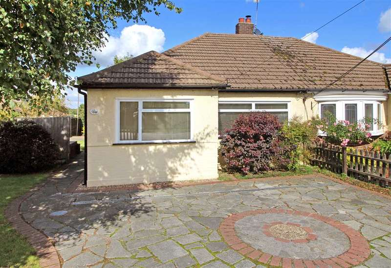 2 Bedrooms Bungalow for sale in Orchard Lane, Pilgrims Hatch, Brentwood