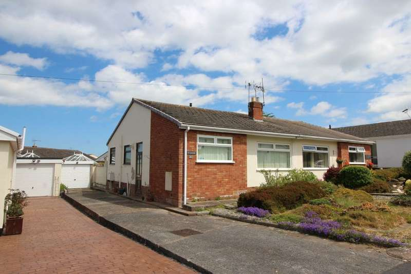 2 Bedrooms Semi Detached Bungalow for sale in Lon Derw, Abergele, LL22