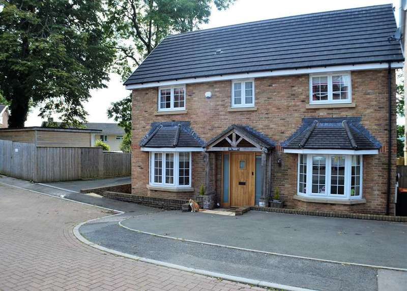 5 Bedrooms Detached House for sale in Westfield Gardens, Malpas, Newport