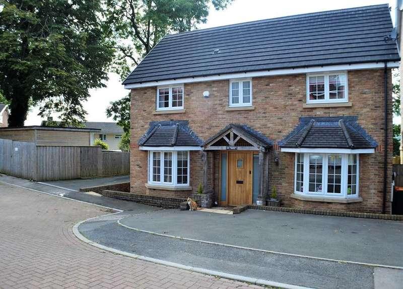 5 Bedrooms Detached House for sale in Westfield Gardens, Malpas, Newport