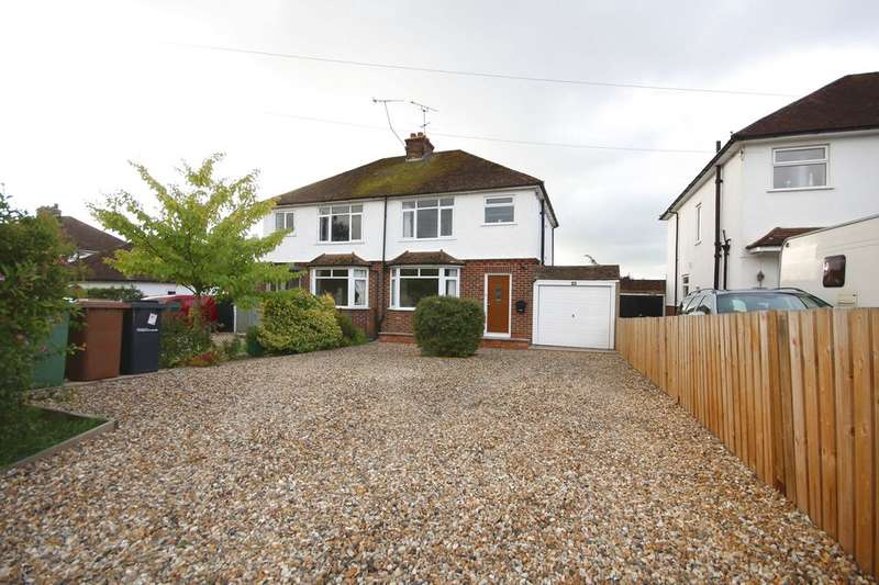 3 Bedrooms Semi Detached House for sale in TESTON