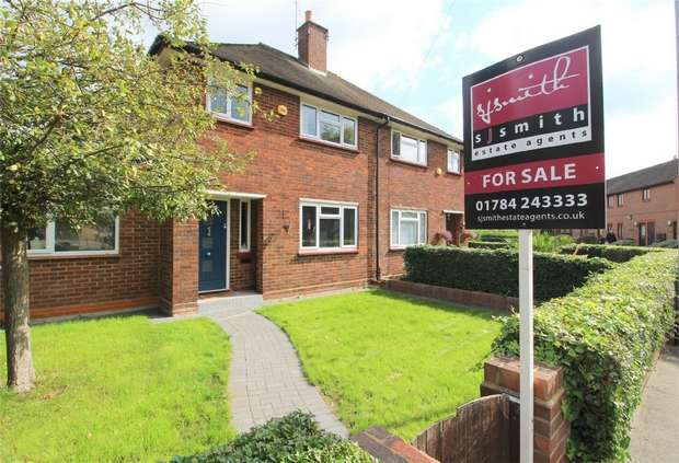 3 Bedrooms Semi Detached House for sale in Grovestile Waye, Bedfont, Middlesex