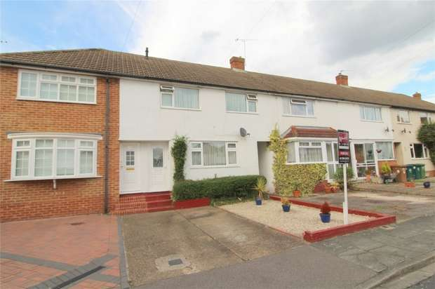 3 Bedrooms Terraced House for sale in Nursery Gardens, Staines upon Thames, Middlesex