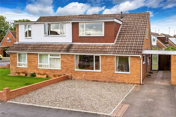 2 Bedrooms Semi Detached House for sale in 23 Boughey Road, Newport, Shropshire