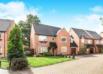 5 Bedrooms Detached House for sale in Highfield, Hatton Park, Warwick, Warwickshire
