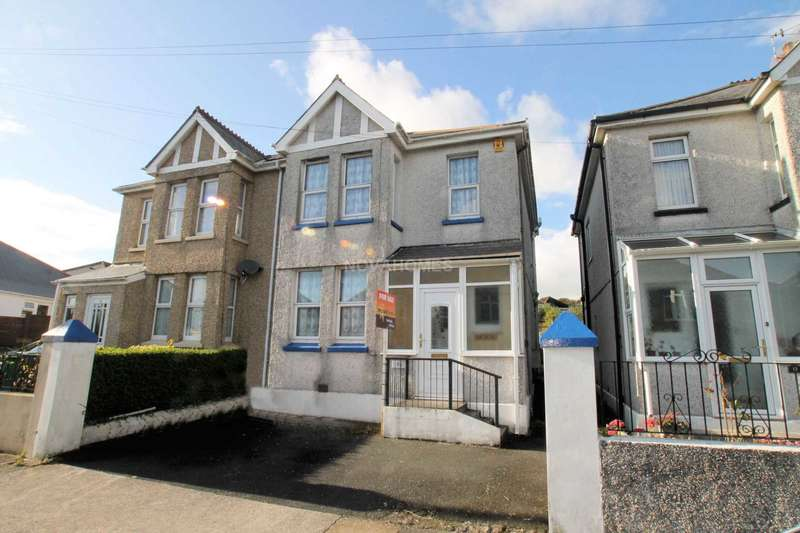 3 Bedrooms Semi Detached House for sale in Beaconfield Road, Beacon Park, PL2 3LD