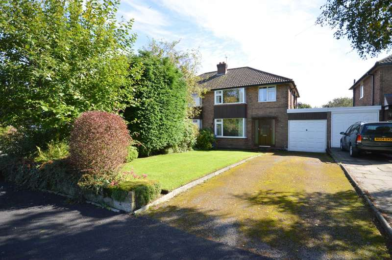 3 Bedrooms Semi Detached House for sale in MEADWAY, Bramhall