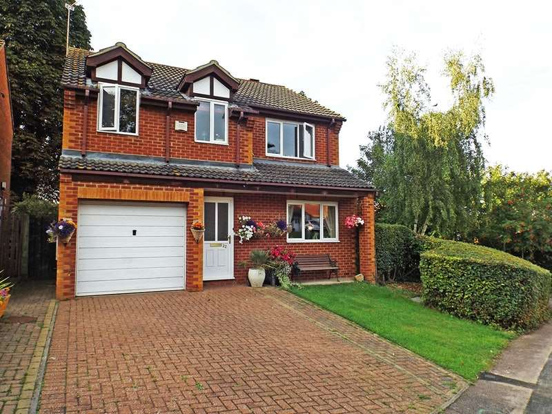 4 Bedrooms Detached House for sale in chamberlain way, Raunds, Northamptonshire, NN9