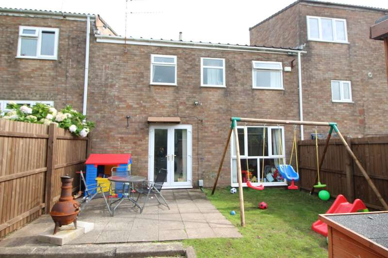 2 Bedrooms Terraced House for sale in Wool Pitch, Greenmeadow, Cwmbran, NP44