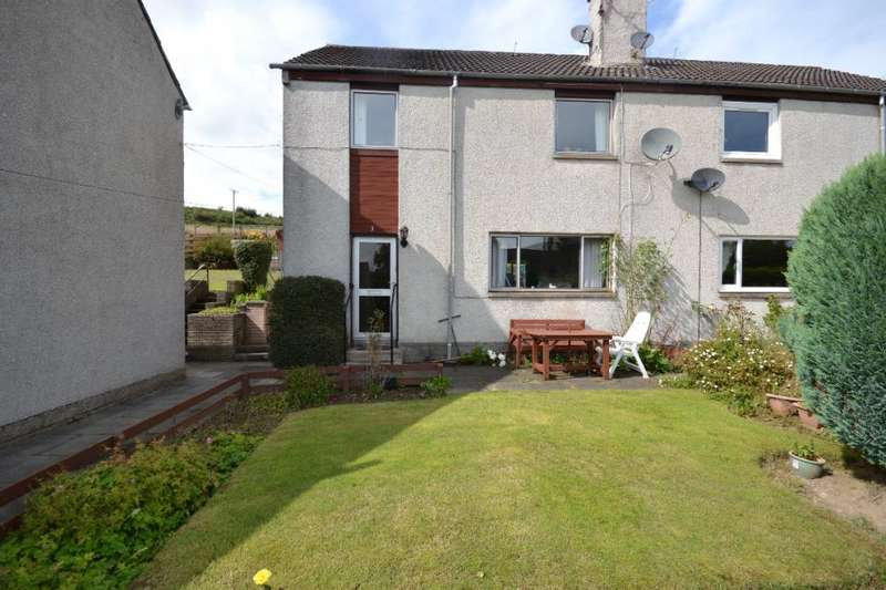 3 Bedrooms Semi Detached House for sale in 3, Overhall Crescent Hawick, TD9 7JD
