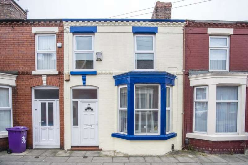 2 Bedrooms Terraced House for sale in Talton Road, Wavertree, Liverpool, L15 0HS