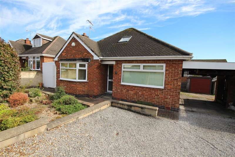 2 Bedrooms Bungalow for sale in Rigley Avenue, Ilkeston