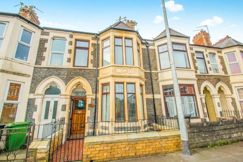 4 Bedrooms Terraced House for sale in Lansdowne Road, Canton, Cardiff