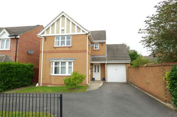 3 Bedrooms Detached House for sale in Northbourne Drive, Maple Park, Nuneaton, Warwickshire