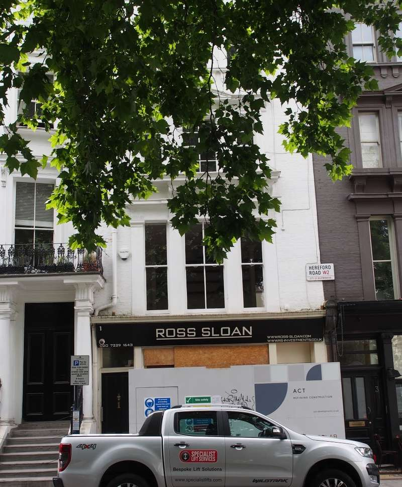 Commercial Property for sale in Hereford Road, Bayswater, London, W2 4AB