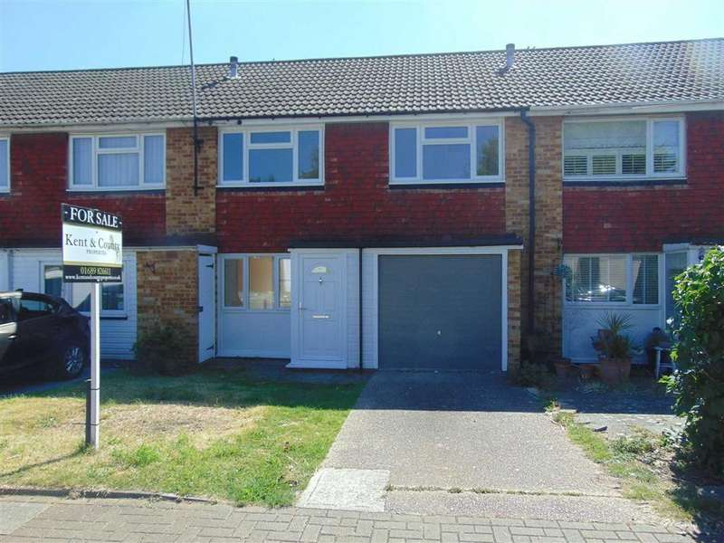3 Bedrooms Terraced House for sale in Tilbury Close, St Pauls Cray, Kent