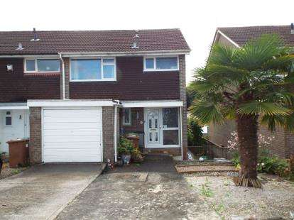 3 Bedrooms Semi Detached House for sale in Goosewell, Devon