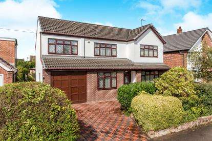 4 Bedrooms Detached House for sale in Kirkby Road, Culcheth, Warrington, Cheshire