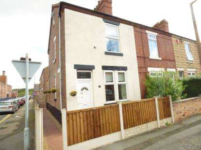 2 Bedrooms End Of Terrace House for sale in Wellington Street, Long Eaton, Nottingham