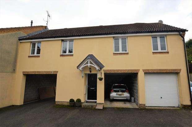 2 Bedrooms End Of Terrace House for sale in Mill Avenue, Copplestone, Crediton, Devon