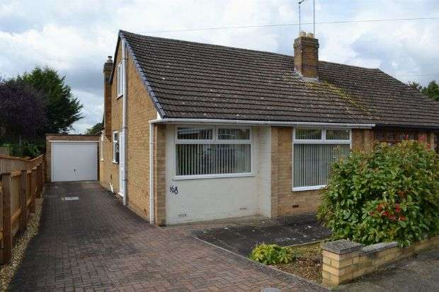 2 Bedrooms Semi Detached House for sale in Coppice Drive, Parklands, Northampton NN3 6NG