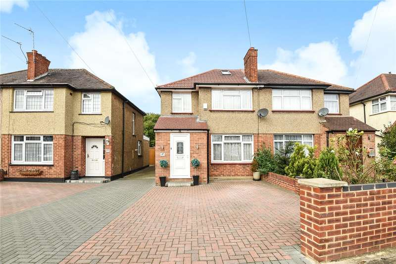 3 Bedrooms Semi Detached House for sale in Moray Avenue, Hayes, Middlesex, UB3