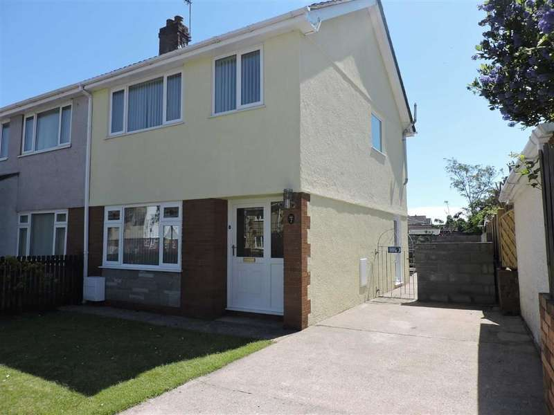 3 Bedrooms Semi Detached House for sale in Plas Road, Grovesend