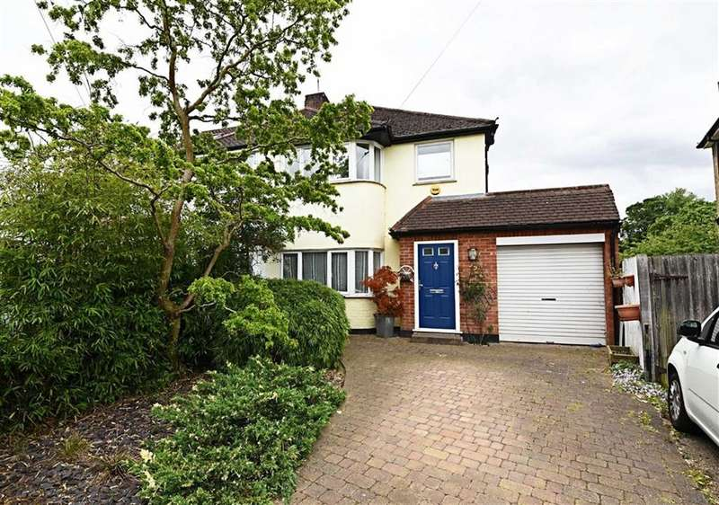 3 Bedrooms Semi Detached House for sale in Oakhampton Road, Mill Hill, London, NW7