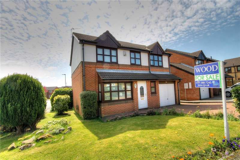 4 Bedrooms Detached House for sale in Turnberry, Ouston, Chester Le Street, DH2