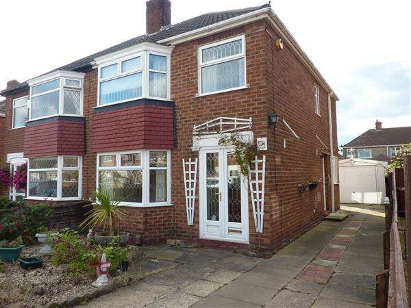 3 Bedrooms Semi Detached House for sale in SALSBURY AVENUE, GRIMSBY
