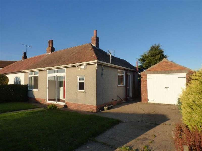 2 Bedrooms Semi Detached Bungalow for sale in New Ellerby, Hull, East Yorkshire, HU11