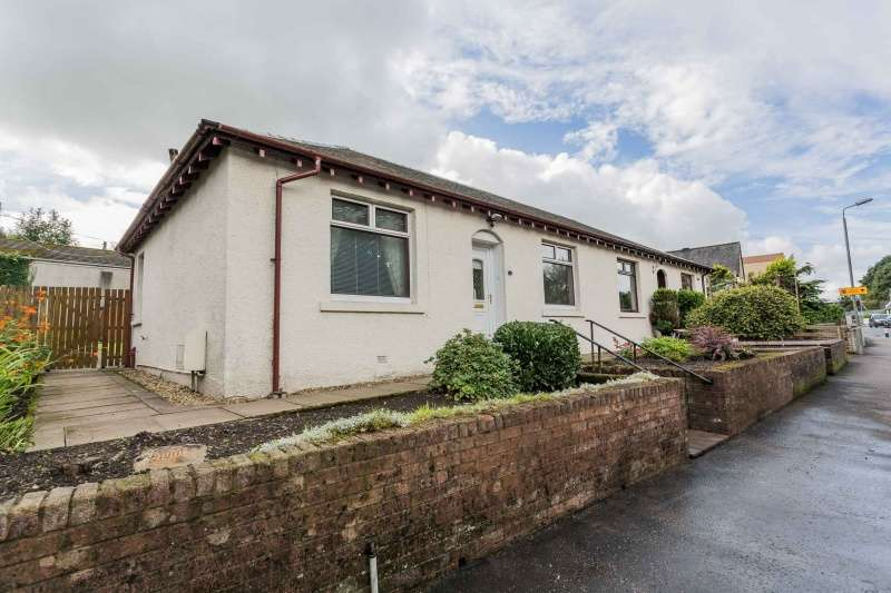 2 Bedrooms Semi Detached Bungalow for sale in Irvine Road, Kilmaurs, Kilmarnock, KA3 2RH