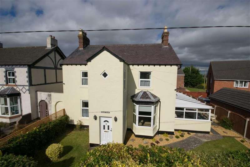 4 Bedrooms Detached House for sale in Bank Lane, Drury, Buckley