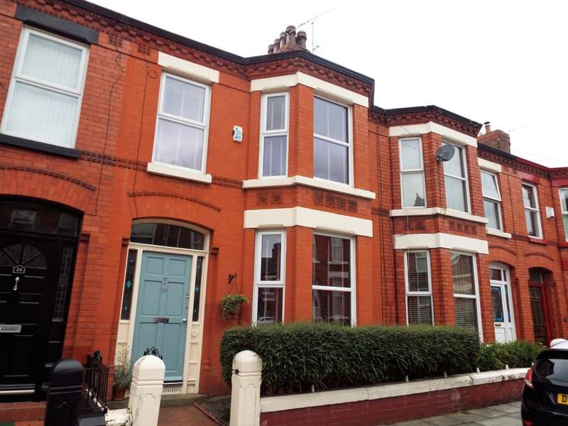 3 Bedrooms Terraced House for rent in Centreville Road, Liverpool, L18