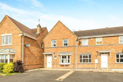 3 Bedrooms End Of Terrace House for sale in Price Close East, Chase Meadow, Warwick, Warwickshire