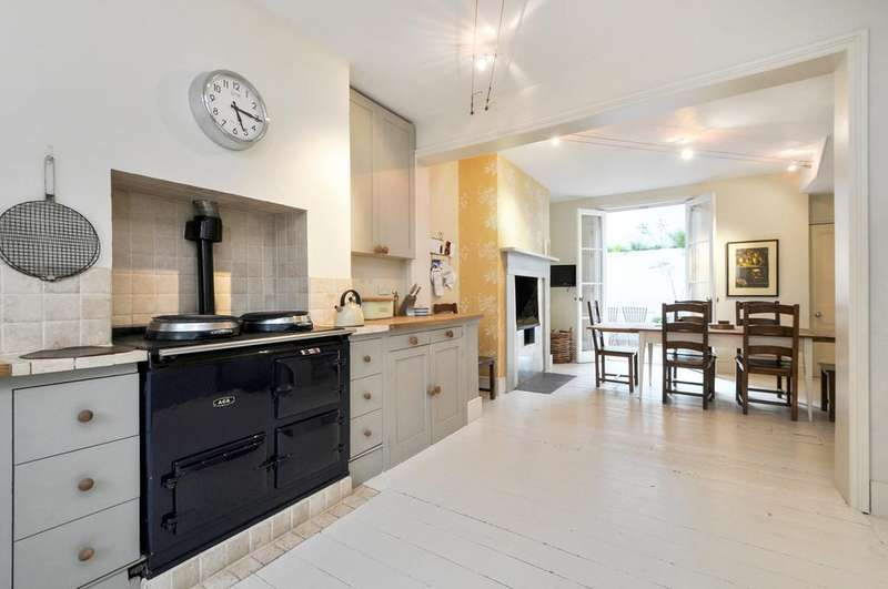 5 Bedrooms Terraced House for sale in Westcroft Square, W6