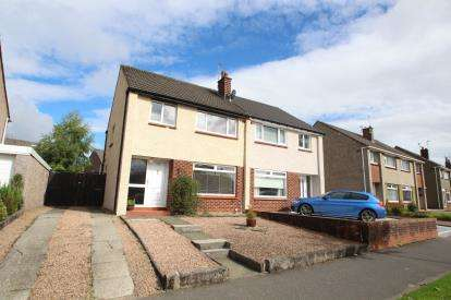 3 Bedrooms Semi Detached House for sale in Balmuildy Road, Bishopbriggs