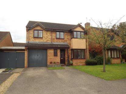 4 Bedrooms Detached House for sale in Medland Grove, St. Neots, Cambridgeshire