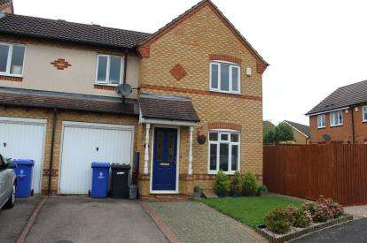 3 Bedrooms End Of Terrace House for sale in Swallow Close, Brackley, Northamptonshire, Uk